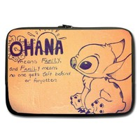 "Unidesign Lilo and Stitch 13"" 13.3"" Inch Laptop Sleeve Bag for Apple Macbook pro, air, Dell Inspiron, Vostro, Samsung, ASUS UL30, Toshiba Notebook"
