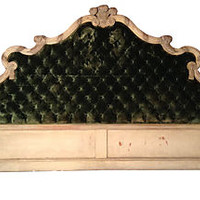 Tufted European Headboard