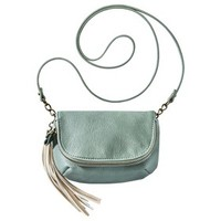 Mossimo Supply Co. Crossbody Handbag with Ivory Tassle - Mint