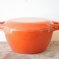 Copco Enamel Dutch Oven // Michael Lax Cast Iron Enamelled Orange Pot