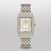 Deco II Diamond Two-Tone, Diamond Dial MWW06X000006 | MICHELE®