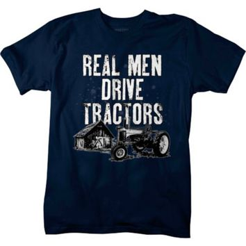 Lifestyle Legends™ Men's Real Men Drive Tractors Printed T-shirt - Tractor Supply Co.