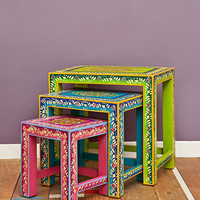 Ibiza Nesting Table - Urban Outfitters