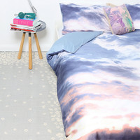 Essenza Sky Large Single Duvet Set - Urban Outfitters