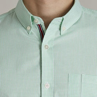 The Rutledge Green Gingham Shirt