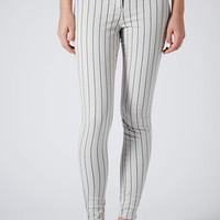 Stripe Skinny Trousers