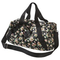 Mossimo Supply Co. Floral Weekender Handbag - Black