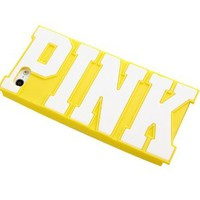 Letter Pink Soft Phone Shell Case for Iphone 5/s