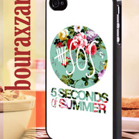 5SOS Vintage Logo - iPhone 4/4s/5/5s/5c Case - Samsung Galaxy S3/S4 - Blackberry z10 - iPod 4/5 Black or White