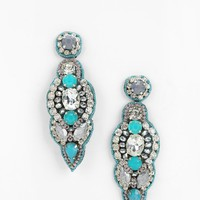 Deepa Gurnani Blue Point Drop Earring - Urban Outfitters