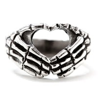 """Hand Heart"" Ring by Blue Bayer Design (Sterling Silver)"