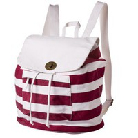 Mossimo Supply Co. Red Stripe Washed Backpack : Target