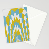 Honey Arches Yellow Stationery Cards by Project M
