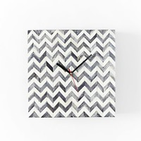 Parsons Wall Clock - Herringbone