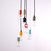 Color pendant lamp