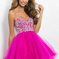 Blush 9658 at Prom Dress Shop