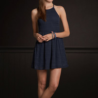 Laguna Hills Halter Skater Dress