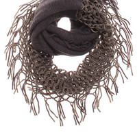 With Love From CA 2 Color Fringe Scarf at PacSun.com