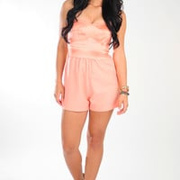 Make My Heart Romper: Peach