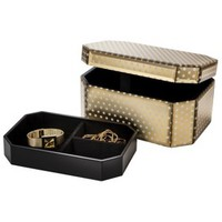 Threshold™ Jewelry Box - Gold Dot Large