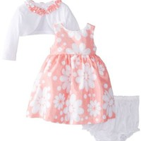 Marmellata Baby-Girls Newborn Floral Dress with Jacket