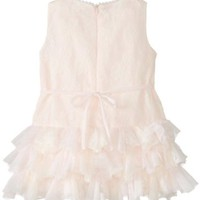 Biscotti Baby-Girls Infant Shimmery Lace Drop Waist Dress