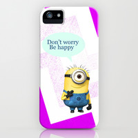Don't worry Be happy iPhone & iPod Case by Ylenia Pizzetti