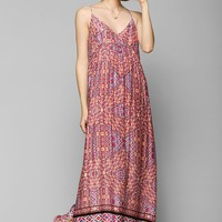 MINKPINK Watercolor Tiles Maxi Dress - Urban Outfitters