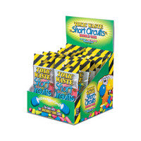 Toxic Waste Short Circuits Sour Bubblegum Packs: 12-Piece Box