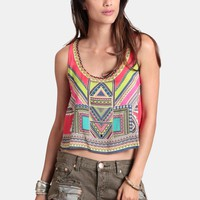 Party In Lima Crop Top