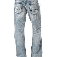 Silver Jeans Gordie Loose-Fit Straight-Leg Jeans