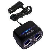 Two-hole socket car house car cigarette lighter power splitter - $7.90 : freegiftbox!, online shopping for electronics,iphone ipad accessories, comsumer electronics and accessories, game accessories and fashion apperal