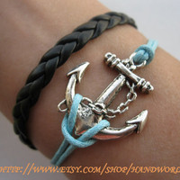 antique sliver anchor  by handworld