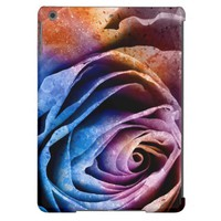 Colorful Acrylic Textured Rose iPad Air Case