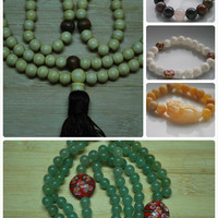 Mala of the Month - One Year- 12 months - Necklaces & Pendants