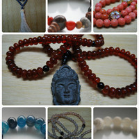 Mala of the Month - Six Months - Necklaces & Pendants