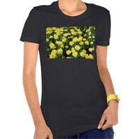Yellow Tulips Women's Bella Jersey T-Shirt