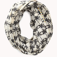 Tropical Palm Infinity Scarf