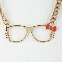 Nerdy Feline Necklace