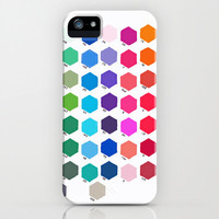 iPhone 5 Case - Hexagon Color Chart