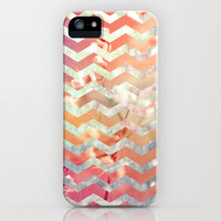 New World Chevron iPhone & iPod Case by Sandra Arduini