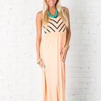 Summer Love Maxi Dress Apricot
