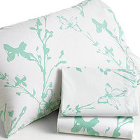 Disney Tinkerbell Tink Watercolor Twin Sheet Set