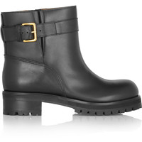 Marni Leather ankle boots – 50% at THE OUTNET.COM