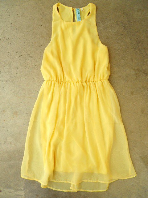Sweet Yellow Daffodil Dress [2481] - $34.00 : Vintage Inspired Clothing & Affordable Summer Dresses, deloom | Modern. Vintage. Crafted.