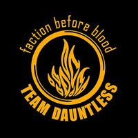 Divergent inspired Team Dauntless Tshirt  in your by Tanglethorne