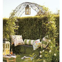 Garden Trellis Bench | Pottery Barn