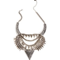 Pre-Order: Vintage Triangle Necklace Set