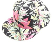 TROPICAL PRINT SNAPBACK HAT