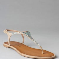 CHINESE LAUNDRY SHOES, GLISTEN T-STRAP SANDAL